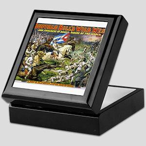 buffalo bill cody Keepsake Box