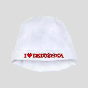 I Love Dedushka Baby Hat