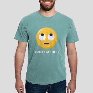 Eye Roll Emoji Personali Mens Comfort Colors Shirt