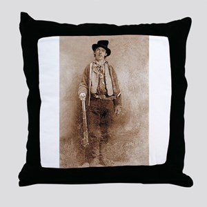 billy,the,kid Throw Pillow
