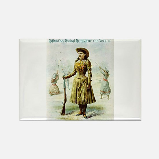 annie oakley Magnets