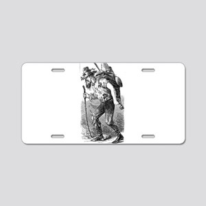 gold rush Aluminum License Plate