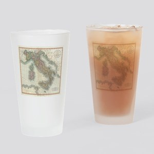 Vintage Map of Italy (1799) Drinking Glass