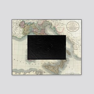 Vintage Map of Italy (1799) Picture Frame