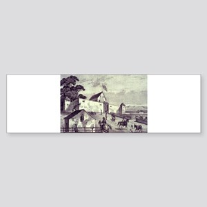 California Gold Rush Bumper Sticker