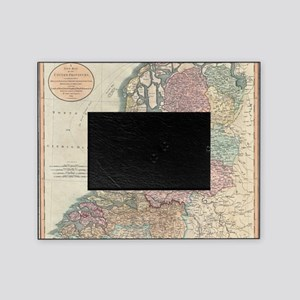 Vintage Map of the Netherlands (1799 Picture Frame