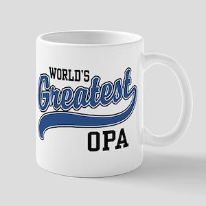 World's Greatest Opa 11 oz Ceramic Mug