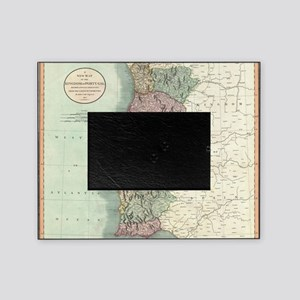 Vintage Map of Portugal (1801) Picture Frame