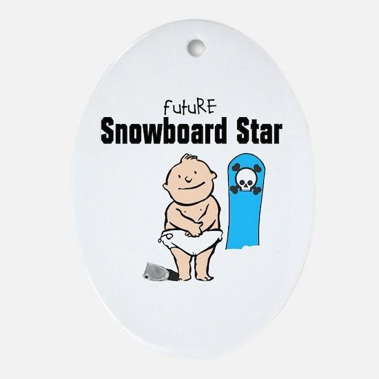 Future Snowboarder Boy Ornament