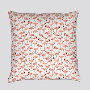 Flamingo Party Everyday Pillow