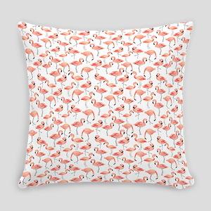 Flamingo Party Everyday Pillow