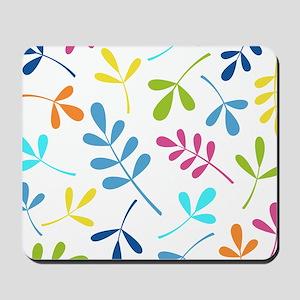 Multicol Leaves Ii Design Mousepad