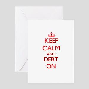 Debt Greeting Cards