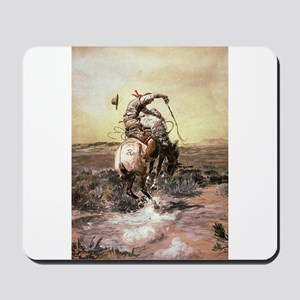 cowboy art Mousepad