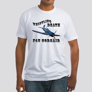 "F4U Corsair ""Whistling Death"" Fitted T-Shirt"