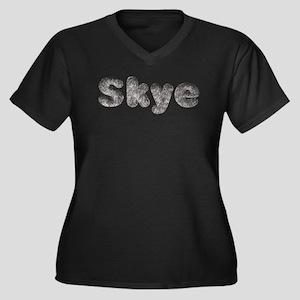 Skye Wolf Plus Size T-Shirt