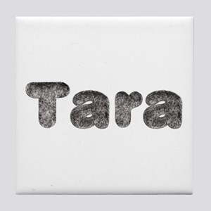 Tara Wolf Tile Coaster