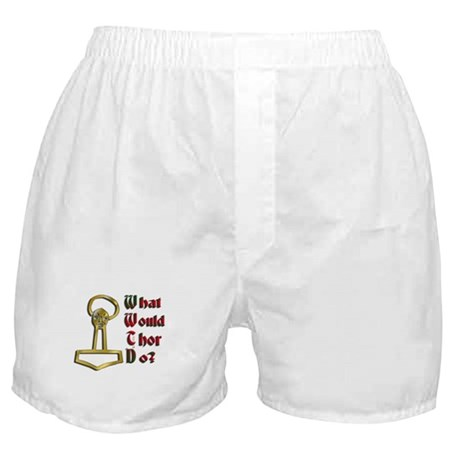 What Would Thor Do? (Hammer) Boxer Shorts