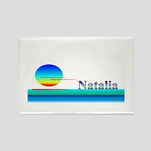 Natalia Rectangle Magnet