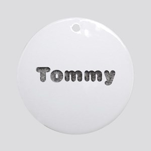 Tommy Wolf Round Ornament