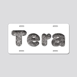 Tera Wolf Aluminum License Plate