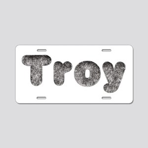 Troy Wolf Aluminum License Plate