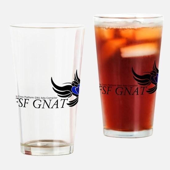 FSF GNAT Drinking Glass