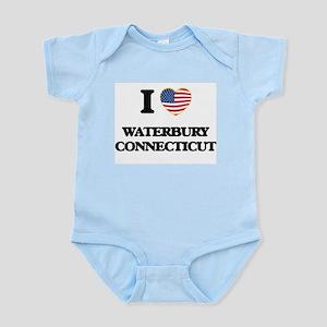 I love Waterbury Connecticut Body Suit