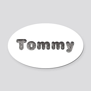 Tommy Wolf Oval Car Magnet