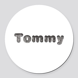 Tommy Wolf Round Car Magnet