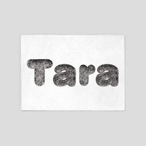 Tara Wolf 5'x7' Area Rug