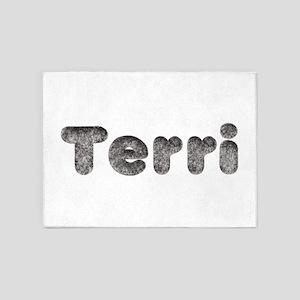 Terri Wolf 5'x7' Area Rug