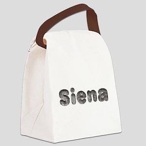 Siena Wolf Canvas Lunch Bag