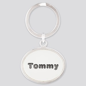 Tommy Wolf Oval Keychain