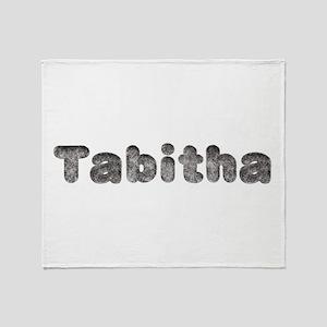 Tabitha Wolf Throw Blanket