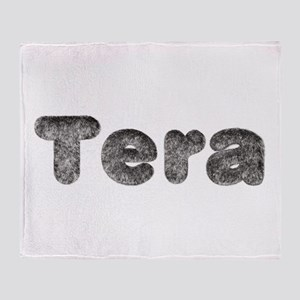 Tera Wolf Throw Blanket