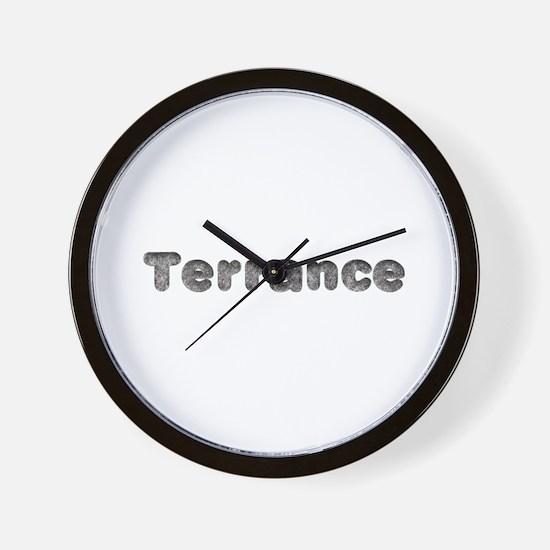 Terrance Wolf Wall Clock
