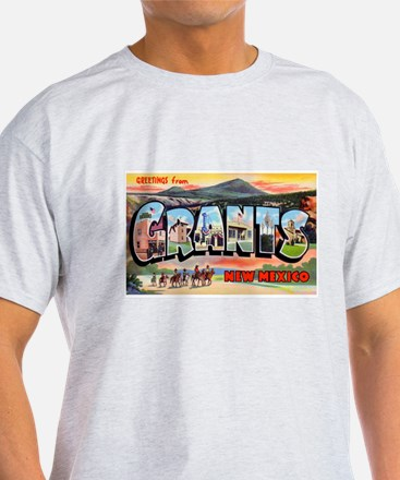 Grants New Mexico Greetings (Front) T-Shirt