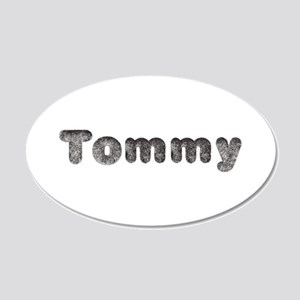 Tommy Wolf 20x12 Oval Wall Decal