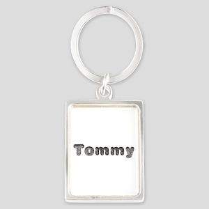 Tommy Wolf Portrait Keychain
