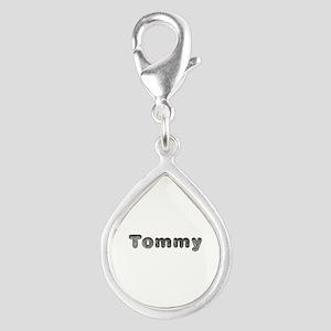 Tommy Wolf Silver Teardrop Charm