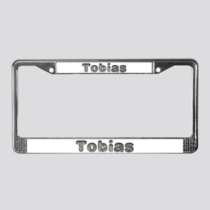 Tobias Wolf License Plate Frame