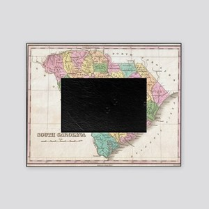 Vintage Map of South Carolina (1827) Picture Frame
