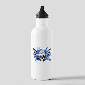 Flying Skull Distresse Stainless Water Bottle 1.0L