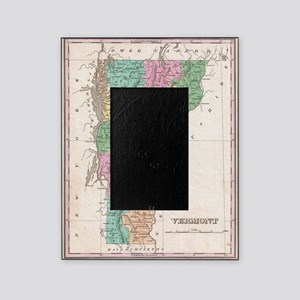 Vintage Map of Vermont (1827) Picture Frame