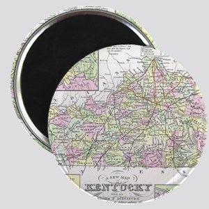 Vintage Map of Kentucky (1850) Magnet