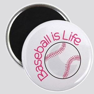 Baseball is Life Magnets
