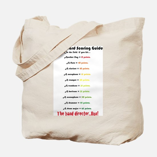 Scoring Guide Tote Bag