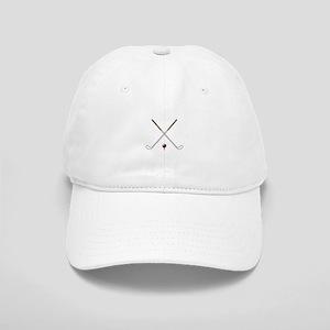 Black Golf Clubs Crossed Hats - CafePress ae57c93c681a