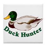 Duck Hunter Tile Coaster